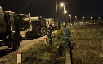 Bãi rác lớn nhất Hà Nội bị chặn