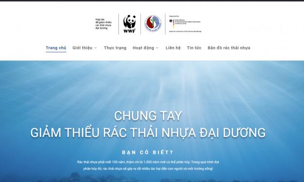 Ra mắt trang web thông tin Dự án